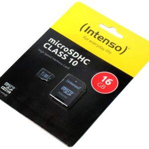 Memoria micro SDHC 16 GB